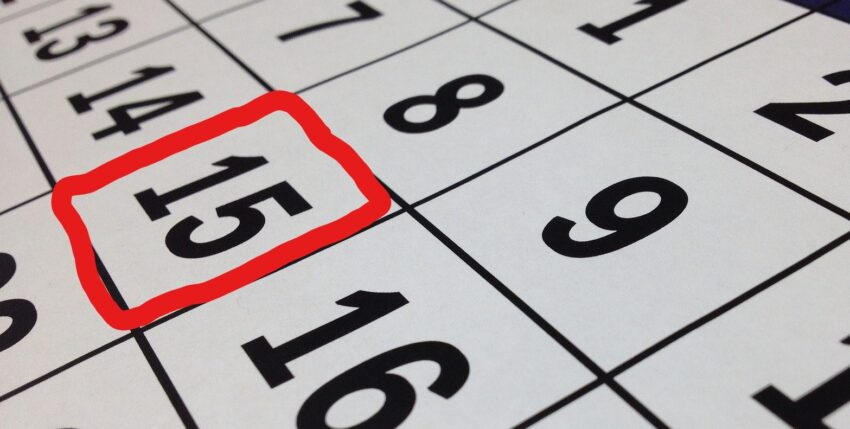 Second Quarter Estimated Tax Payments Now Due July 15th