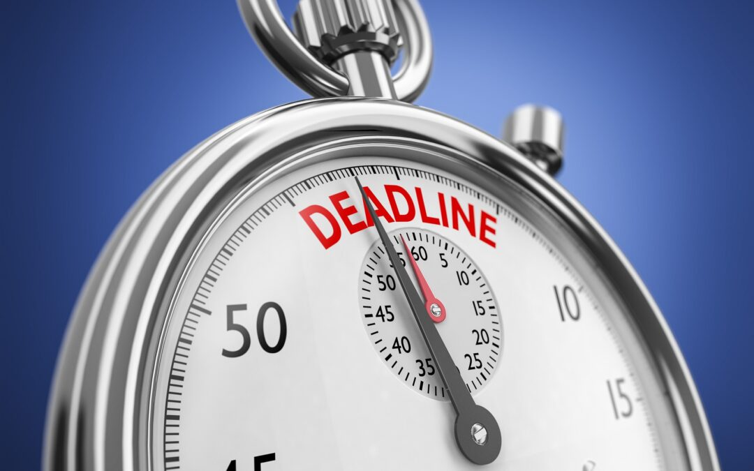 Reminder:  2020 Extension Tax Filing Deadlines are Quickly Approaching